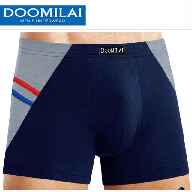 Мужские боксеры стрейчевые  Марка «DOOMILAI»  Арт.D-02014