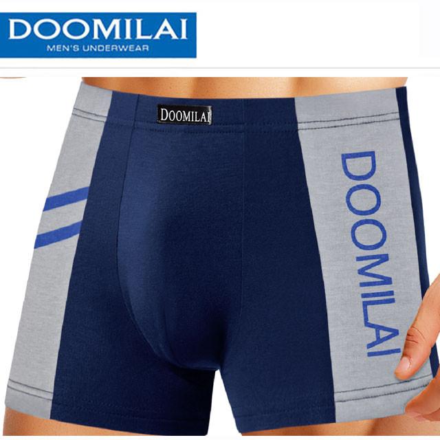 Мужские стрейчевые боксеры Марка  «DOOMILAI»  Арт.D-02013