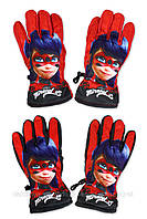 Непромокаемые перчатки для девочек Disney оптом, 7/8-11/12лет. {есть:10/11 лет,9/10 лет}