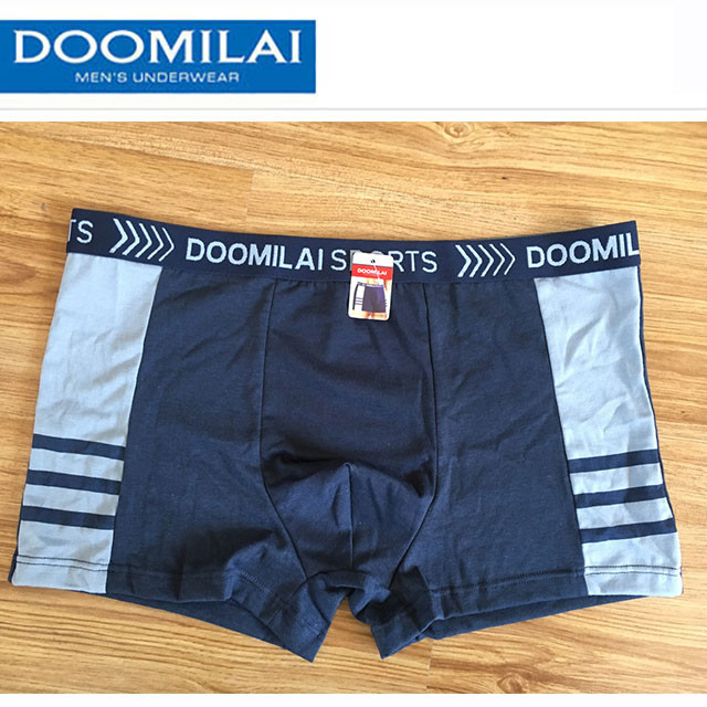 Мужские боксеры (пол-батал) стрейчевые марка «DOOMILAI» Арт.D-02023