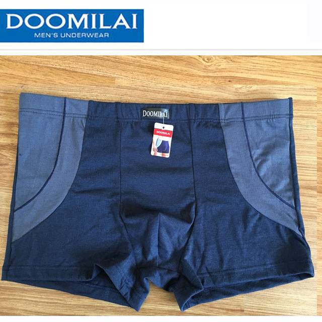 Мужские боксеры (пол-батал) стрейчевые марка «DOOMILAI» Арт.D-02029