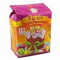 Смесь для выпечки Кулич Пасхальный Сто Пудов, 1100 гр