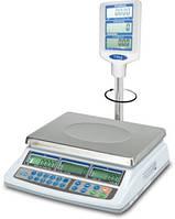 Весы торговые электронные 500х500 мм со стойкой