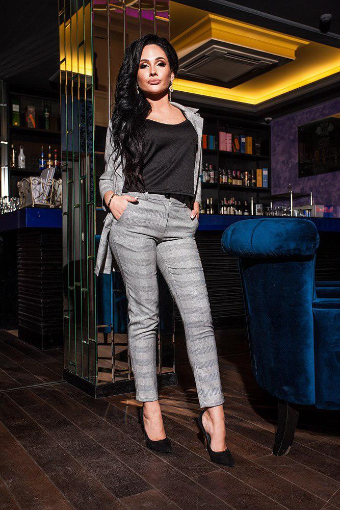 Женский костюм с брюками кв618