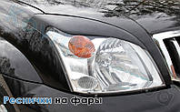 Реснички на фары Dacia Logan(2005-)
