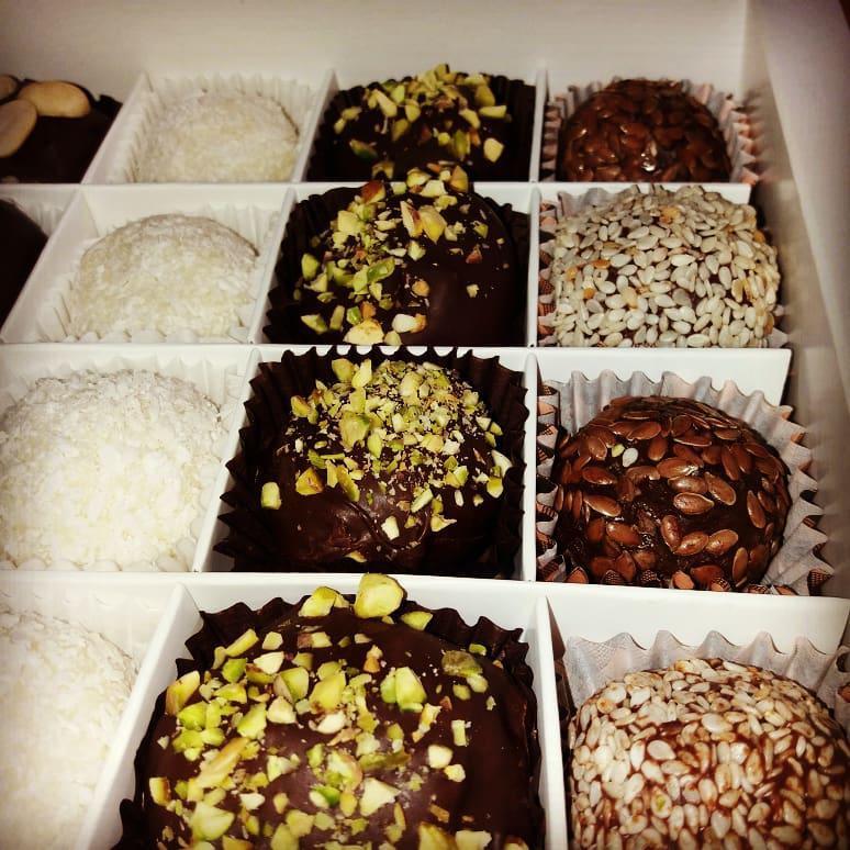 Конфеты шоколадные Трюфель цукерки натуральні