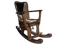 Крісло-Гойдалка (Качалка) дерев'яна під старовину