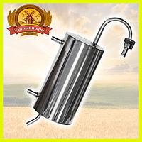 Охладитель проточный (змеевик, холодильник) для дистиллятора бытового