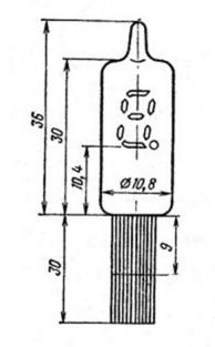 Индикатор вакуумный люминесцентный ИВ-8