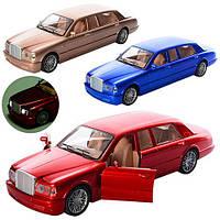 Машинка 5283BCD (36шт) 29,5см, свет, муз, 3 цвета, на бат-ке(таб), в кульке, 18-36-7см