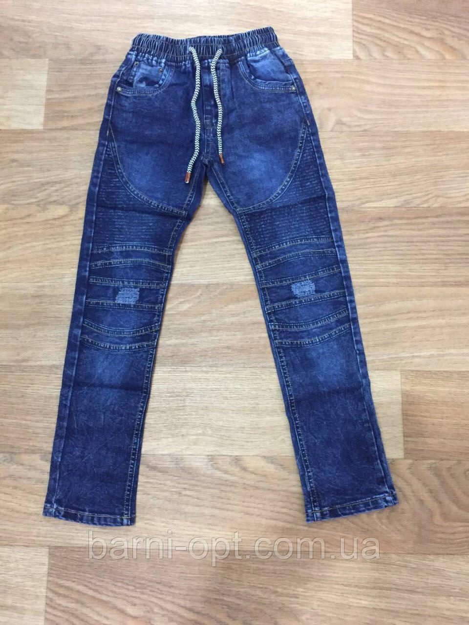 Джинсовые брюки для мальчиков Seagull оптом 146,рр