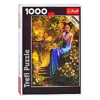 Пазлы 10356 (6шт) Trefl, Колыбельная флейтистки, 1000дет, в кор-ке, 40-27-6см