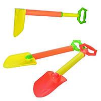 Водяной насос 8833/B 1-2-3 (72шт) в виде лопаты, 60см, 2 цвета, в кульке, 16-66,5-6см