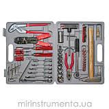Набор инструмента с комплектом метизов и аксессуаров 100ед. [] INTERTOOL ET-5100, фото 2