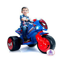 Трицикл 72960  СП,мотор 6V,аккум 6V,4-6кмч,от2лет,синий с красным,в кор-ке,89,5-67-60см