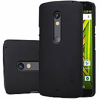 Чехол для моб. телефона NILLKIN для Moto X Play - Super Frosted Shield (Black) (6279922)