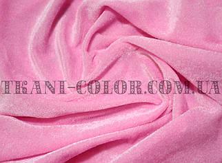 Велюр стрейчевий рожевий