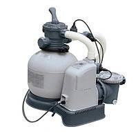 Фильтр-насос 28676 (1 шт) грубая очистка, система соленой воды, 7 грамм/час выход хлора, 220V