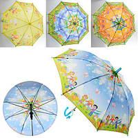 Зонтик детский MK 0853 49см,трость62см,диам.76см,спица44см,ткань,свисток,5видов,