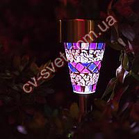 Садовый светильник на солнечной батарее CAB95 фиолетовый, фото 1