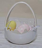 Корзинка-скорлупка - подставка под конфеты/цветы