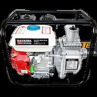 Мотопомпа Bavaria 500 л/мин, 7/23 м всасывание/подача, для чистой и грязной воды, для осушения и водоснабжения, фото 1