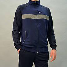 Розміри:46,48. Турецький чоловічий спортивний костюм Nike (Найк) / Трикотаж, Двухнитка, фото 3