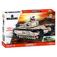 Конструктор Mk IV, Черчіль I, серія World Of Tanks, COBI, фото 1