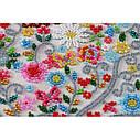 Набор для вышивки бисером на холсте «Свадебная метрика», фото 2