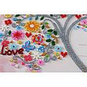 Набор для вышивки бисером на холсте «Свадебная метрика», фото 3