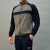 Весенний мужской спортивный костюм Nike (Найк) из трикотажа   Турция,  Двухнитка, Разные b5e42792421