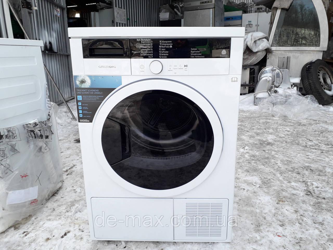 Сушильная машина с тепловым насосом grundig gta 38261 g 8 кг a