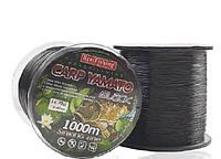 Леска карповая Bratfishing Carp Yamato black 0,30mm 1000m