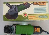 ✅ Машина угловая шлифовальная Procraft PW- 980