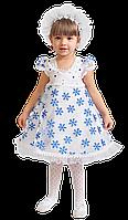 Детский карнавальный костюм Снежинка 28