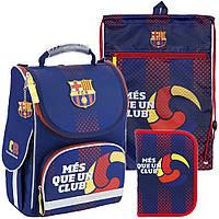 Рюкзак в комплекте 3 в 1 FC Barcelona KITE BC18-501S+601M+622