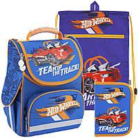 Рюкзак в комплекте 3 в 1 Hot Wheels KITE HW18-501S-2+601M-2+622-1