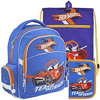 Рюкзак в комплекте 3 в 1 Hot Wheels KITE HW18-510S+601M-2+622-1