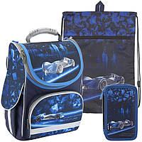 Рюкзак в комплекте 3 в 1 Futuristic KITE K18-501S-3+601M-6+623-2