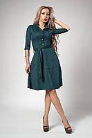 Платье мод 548-4 размер 44,46,48 бутылочное