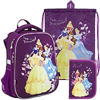 Рюкзак в комплекте 3 в 1 Princess KITE P18-531M+600S+621