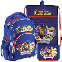 Рюкзак в комплекте 3 в 1 Paw patrol KITE PAW18-513S+601M+622