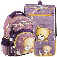 Рюкзак в комплекте 3 в 1 Popcorn Bear KITE PO18-518S+601M-1+622