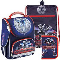 Рюкзак в комплекте 3 в 1 Transformers KITE TF18-501S-2+601M-4+622-2