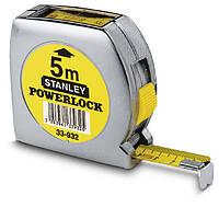 ✅ Рулетка 5м х 19мм Powerlock с окном сверху STANLEY 0-33-932