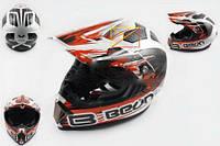 Шлем кроссовый BEON mod B-600