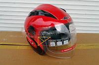 Шлем открытый BLD Bailide красный