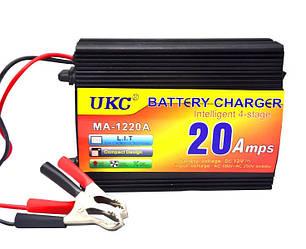 Зарядное устройство UKC МА-1220 для аккумулятора в Авто 12V 20A  Battery Charger 20A