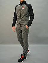 ca4cd76f Размеры: 46,48. Серый мужской спортивный костюм Reebok Crossfit ...