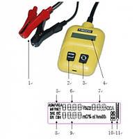 ✅ Тестер аккумуляторных батарей TRISCO IBA-600